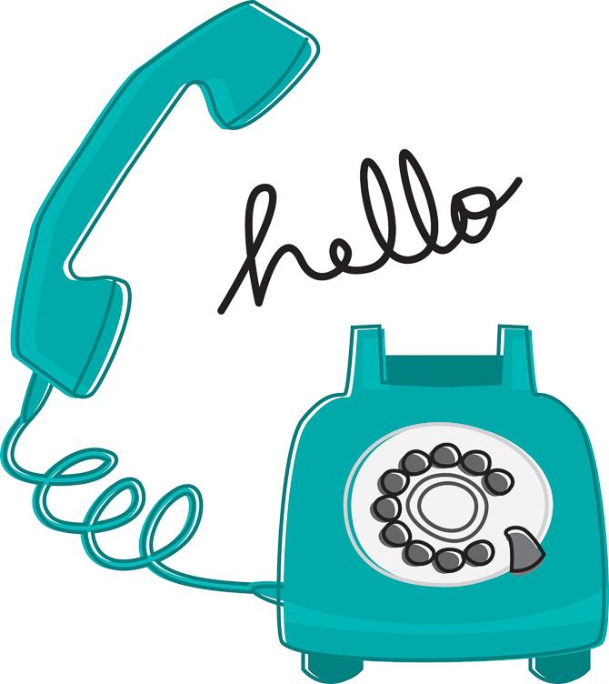 Retro Phone Hello