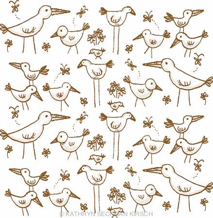 BirdDrawingPattern