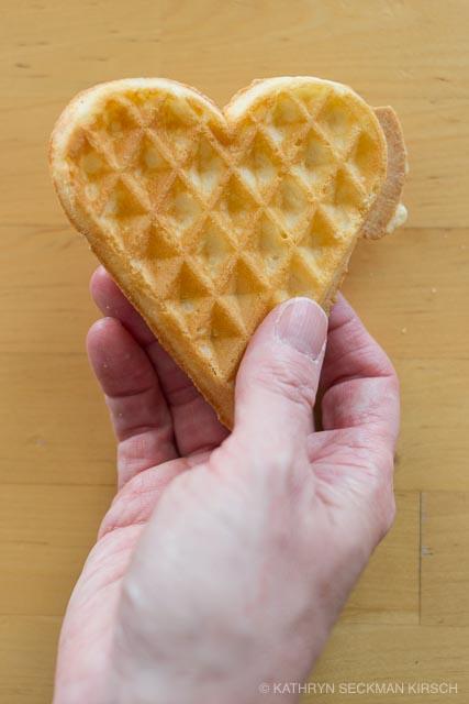 Heart Waffle